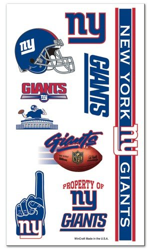 Amazoncom New York Giants Temporary Tattoos Sports Outdoors