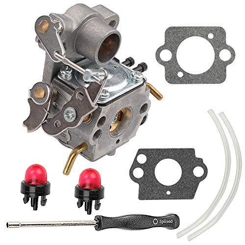 (Carburetor for ZAMA C1M-W26 C1M-W26C Poulan P3314 P3416 P3816 P4018 PP3416 PP3516 PP3816 PP4018 PPB4218 S1970 Gas Chainsaw Weedeater Part# 545070601 545040701 with Tune Up Kits)