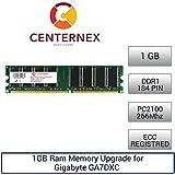 1GB RAM Memory for Gigabyte GA7DXC (PC2100 Reg) Motherboard Memory Upgrade by US Seller