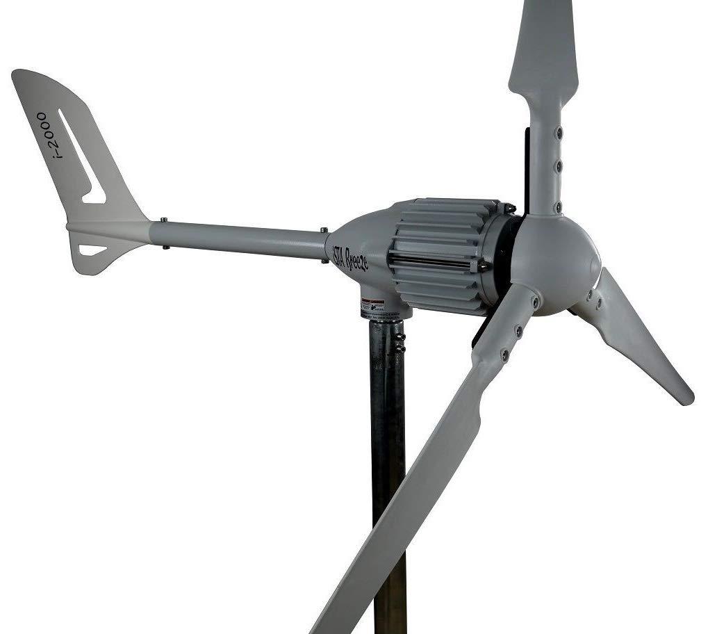 Ista Breeze i-2000 48 V Wind Turbine Wind Generator from (48V, White)
