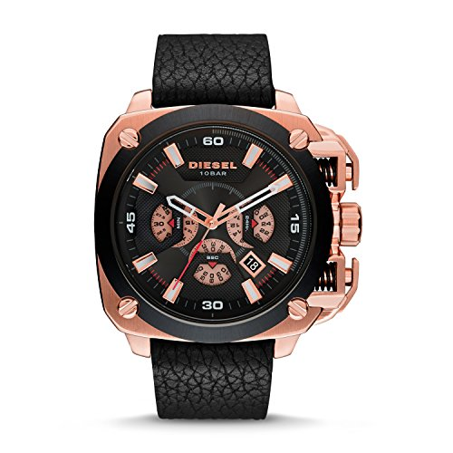 Diesel Men's DZ7346 Analog Display Analog Quartz Black Watch