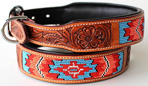 PRORIDER Small 13''- 17'' Rhinestone Dog Puppy Collar Crystal Cow Leather 6053