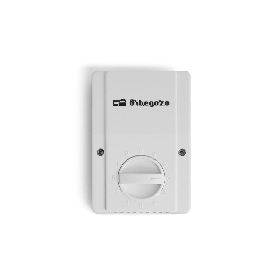 Orbegozo CF 85120 - Ventilador de Techo, diámetro 120 cm, 70 W, 5 velocidades, Mando de Pared, 3 Palas metálicas, Color Blanco: Amazon.es: Hogar