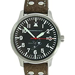 Aristo Men's Watch Messerschmitt Uhr Pilot Watch 163-42S