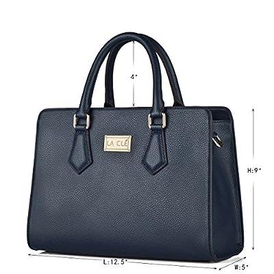 La Clé Street Moda Drawstring Bucket with Patchwork Shoulder Shopper Bag Handbag