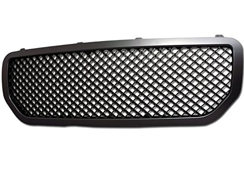 Velocity Racing Matte Black Sport Mesh Front Hood Bumper Grill Grille Cover Abs 05-07 Dodge Magnum MPN: CH1200333, CH1200334