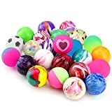 Exerciseball - Pllieay 24 Pieces Jet Bouncy Balls 25mm Mixed Color Party Bag Filler for Children