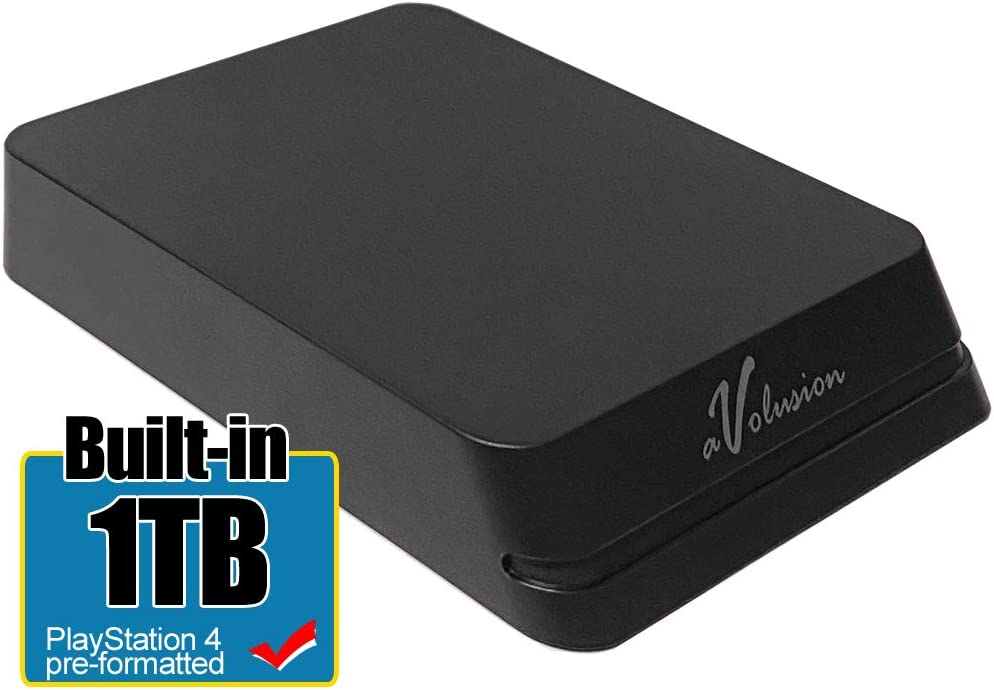 Avolusion Mini HDDGear Pro - Disco Duro Externo portátil para PS4, 1 TB, USB 3.0, HD250U3-X1-PRO-1TB-PS: Amazon.es: Electrónica
