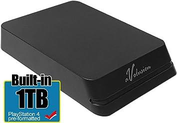 Avolusion Mini HDDGear Pro 1TB USB 3.0 ポータブル PS4 外付けゲーム用ハードドライブ (PS4 フォーマット済み) HD250U3-X1-PRO-1TB-PS
