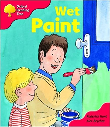 Book Oxford Reading Tree: Stage 4: More Storybooks: Wet Paint by Rod Hunt (2003-09-11)