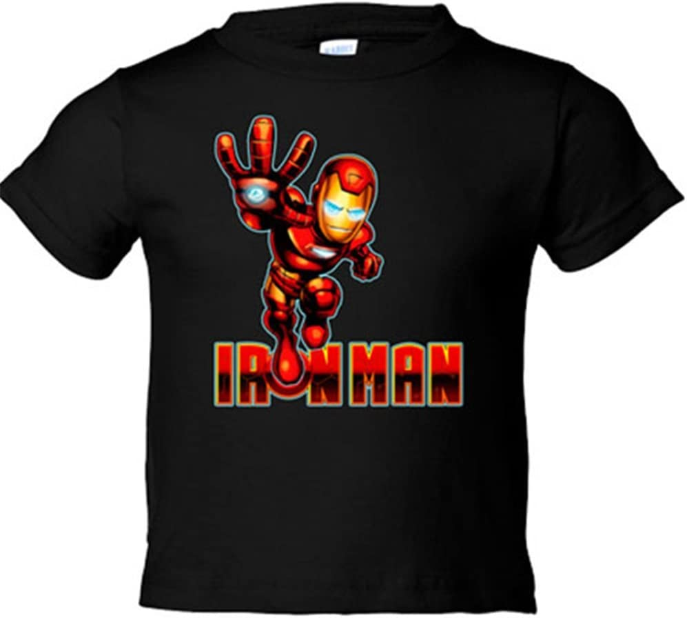 Camiseta Iron Man propulsor de mano: Amazon.es: Bebé