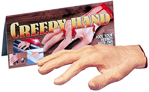 Loftus International Creepy Severed Hand Halloween Decoration Prop Pink Red Novelty Item -