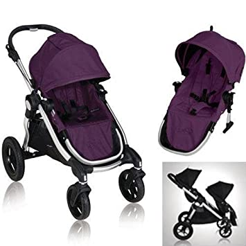 Baby Jogger City Select 2013 Stroller W 2nd Seat Amethyst