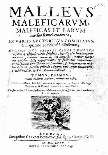 Resultado de imagen de malleus maleficarum