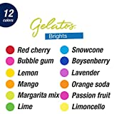 Faber-Castell Gelatos Colors Set, Brights - Water
