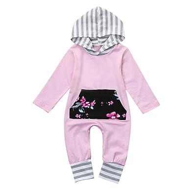 AliveGOT Christmas Custume Baby Romper For Newborn Infant Boys Girls Hooded Jumpsuit Hats Sets Clothes