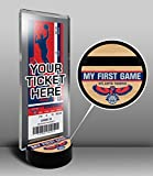 Atlanta Hawks My First Game Ticket Display Stand