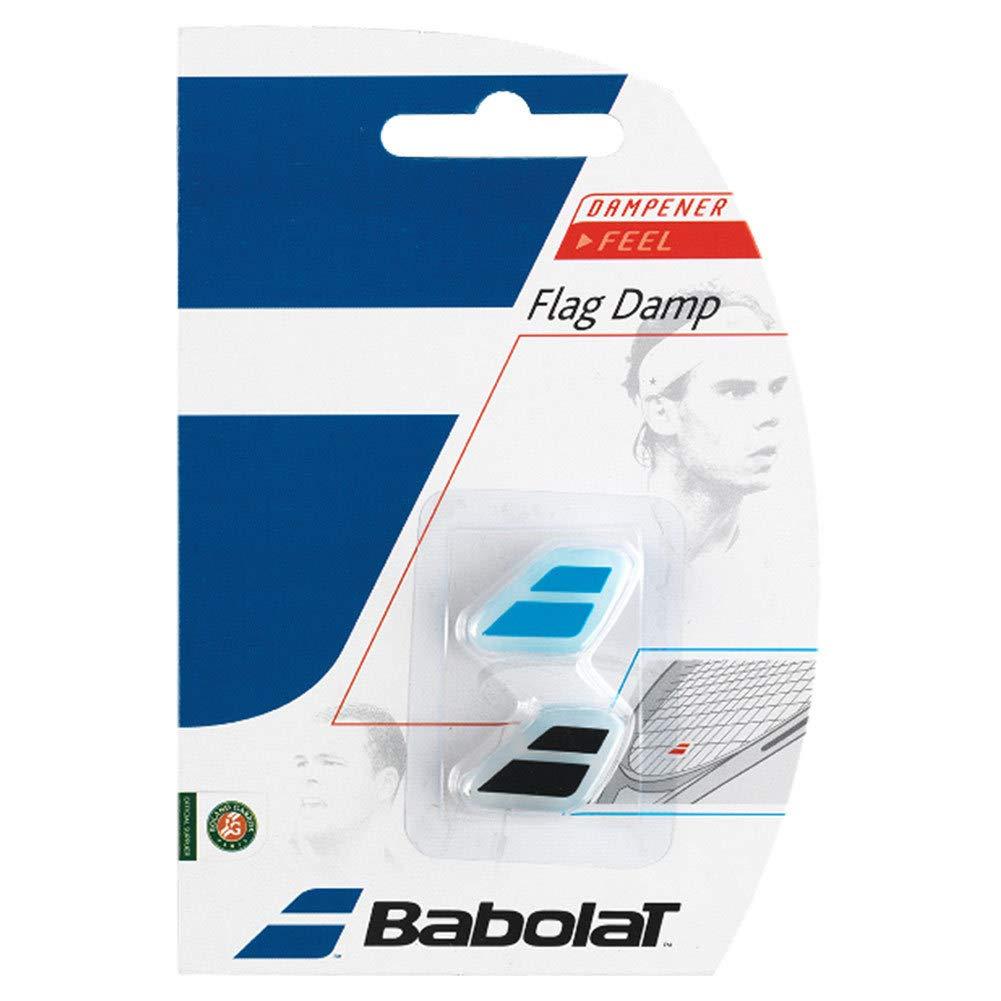 Babolat Set Flag Damp x2/Racket silenziatore Colori Assortiti