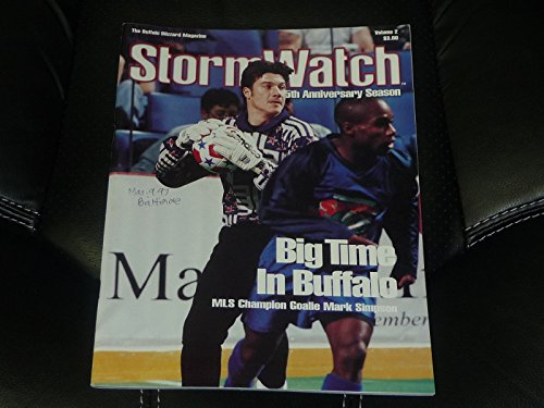 MARCH 9, 1997 BALTIMORE SPIRIT AT BUFFALO BLIZZARD NPSL SOCCER PROGRAM