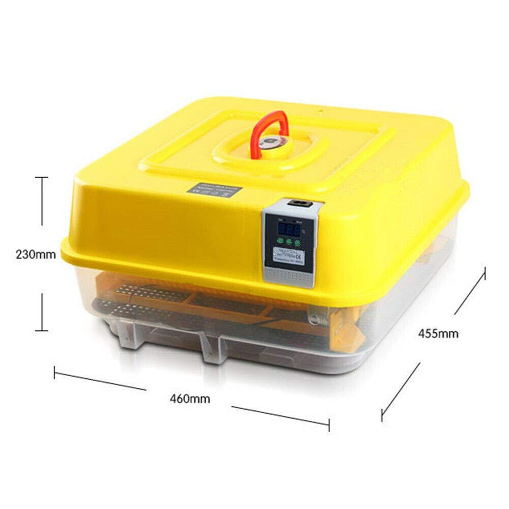 46x45.5x23cm TAIMIKO Inkubator Automatische Brutmaschine Fl/ächenbr/üter Inkubator Br/üter (f/ünf Arten zur Auswahl)Digitale LED 220V-240V