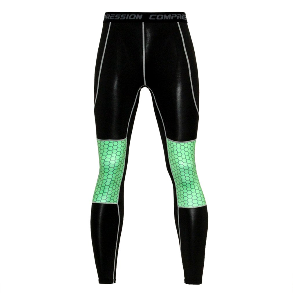 NATURET Compression Pants Running Tights /& Mens Athletic Long Sleeve Baselayer Shirt Skin Fitness Lycra Set