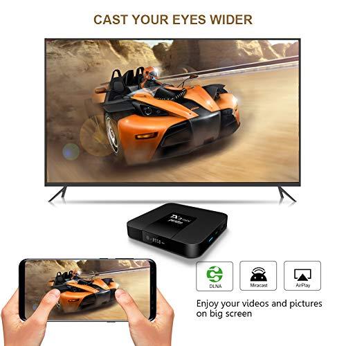 Android TV Box,Android 7.1 TV Box TX3 Mini 2GB/16GB Amlogic S905W Quad core 64 Bits WiFi Smart 4K TV Box by pendoo (Image #7)