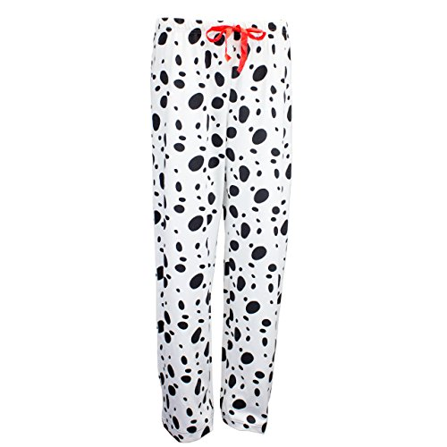 101 Dalmatians Womens' Disney 101 Dalmatians Pajamas White Size Small by Disney (Image #3)
