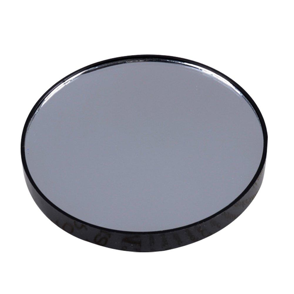 Qiao Nai (TM) 5/10/15x Petit Grossissant Miroir Rond Ventouse Poche Pr Maquillage Verre Salle Bain Cadeau (Grossissant X15)