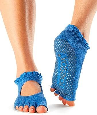 Calcetines de agarre ToeSox con puntera media, calcetines ...