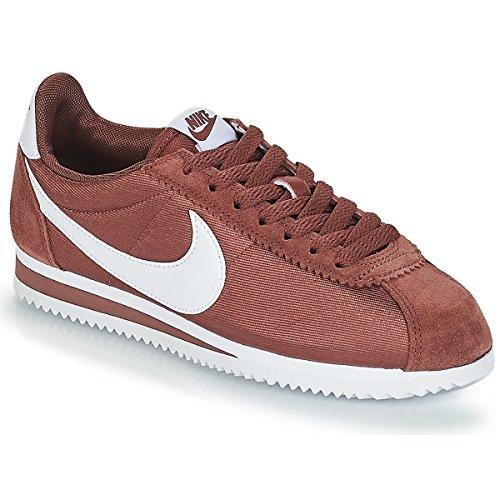 Nike Womens Classic Cortez Nylon Trainers 749864 Sneakers Shoes (UK 5.5 US 8 EU 38, red Sepia White 203)