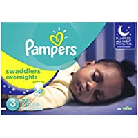 72 Ct. Pampers Swaddlers Overnights Disposable Diapers