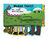 feet book - Melissa & Doug Soft Activity Baby Book - Whose Feet?