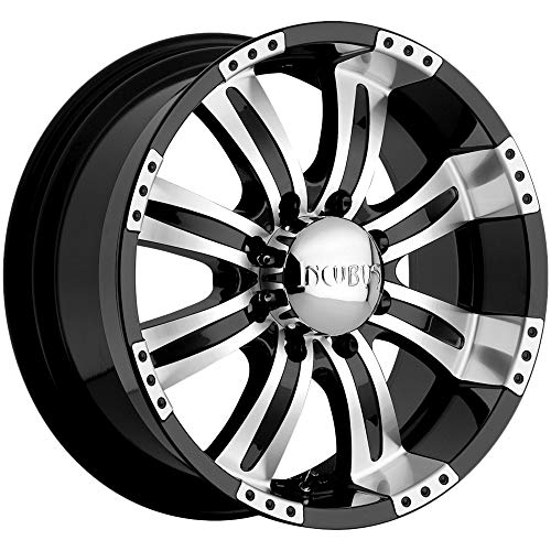 Incubus Poltergeist 20x9 Black Wheel / Rim 8x170 with a 10mm Offset and a 130.80 Hub Bore. Partnumber 501290867+10GBM