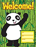 Scholastic TF2457 Panda Welcome Chart
