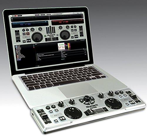 Numark dj 2 go ultra portable usb dj controller for mac or for Mesa de mezclas virtual