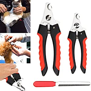 ETbotu Stainless Steel Pet Nail Claw Clippers Trimmer Scissors Grooming Cutters for Pet Dog