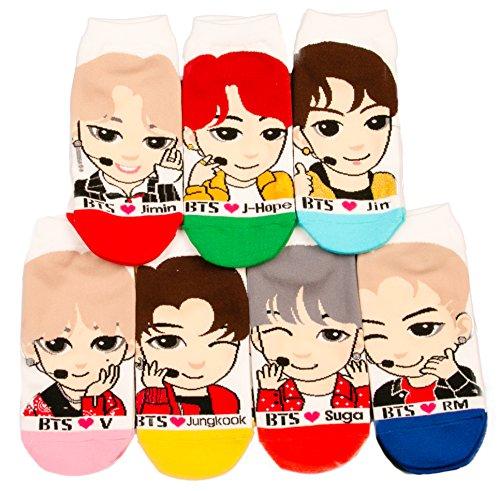BTS Kpop Character Socks (2018 LIMITED EDITION)
