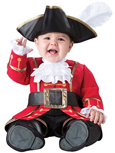 [InCharacter Boys' Captain Cuteness Costume, Multi, Small] (Toddler Boys Pirate Costumes)