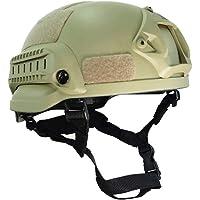 LIBWX Casco táctico Militar, Protector de Cabeza