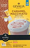 keurig gevalia k cups and froth - Gevalia Caramel Macchiato K-Cup Packs and Froth Packets, 6 Count