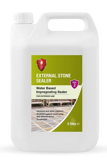 LTP External Stone Sealer (5 Litre) - Water-Based Impregnating ...