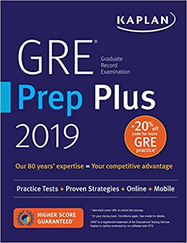gre prep plus 2019 practice tests proven strategies online video mobile kaplan test prep