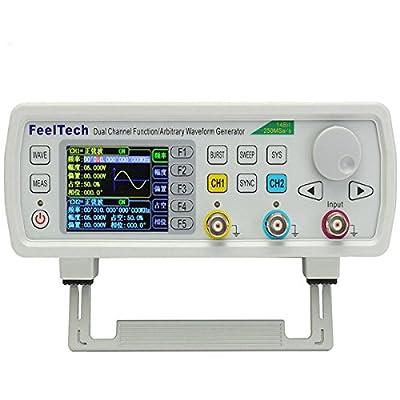 RISHIL WORLD FY6600 Digital 12-60MHz Dual Channel DDS Function Arbitrary Waveform Signal Generator Single Item.