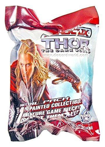 Marvel Heroclix Thor The Dark World unopened foil packs 100 sealed
