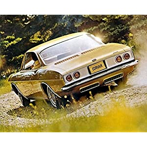 1965 Chevrolet Corvair Automobile Photo Poster