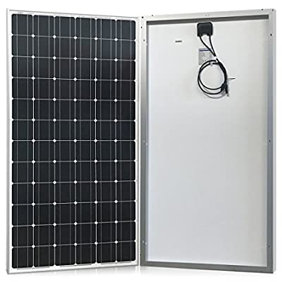 200W Solar Panel, Monocrystalline for RV, Boat 12V Battery Charging