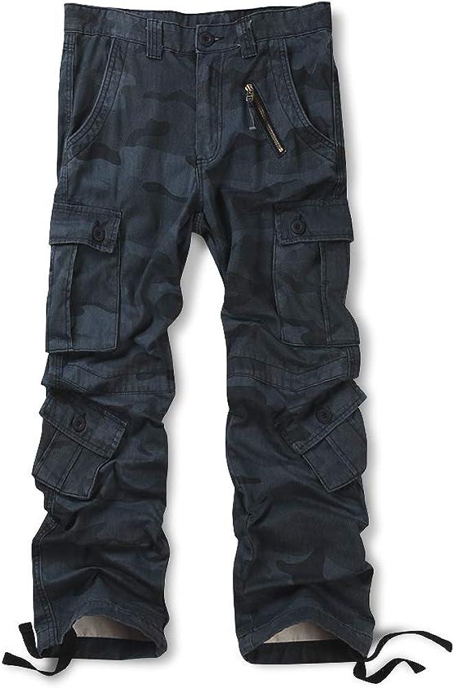 Pantalones cargo de algod/ón para hombre Ochenta