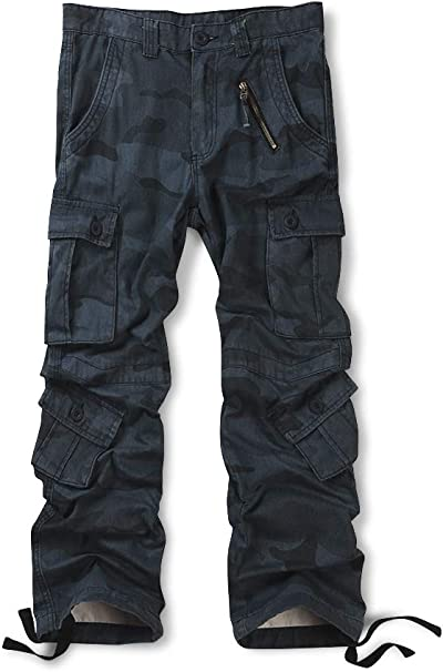 Men Pants Cargo Bottoms Military Army Combat Shorts Summer Work Casual Trousers