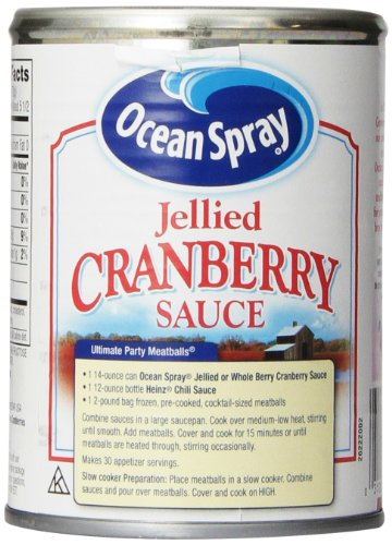 031200016058 - Ocean Spray Cranberry Sauce, Jellied, 14 Fl Oz carousel main 4