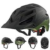 Troy Lee Designs Pinestripe A1 Bike Sports BMX Helmet - Army Green / Medium/Large
